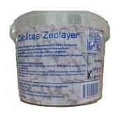 Ceolitas Zeolayer - akvariumo/tvenkinių gruntas, frakcija  4-8mm, plastikiniuose kibirėliuose po 2l (1,75kg)